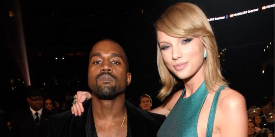 """A new video leaked of Kayne West asking for Taylor Swift's OK to use her name in """"Famous"""""""