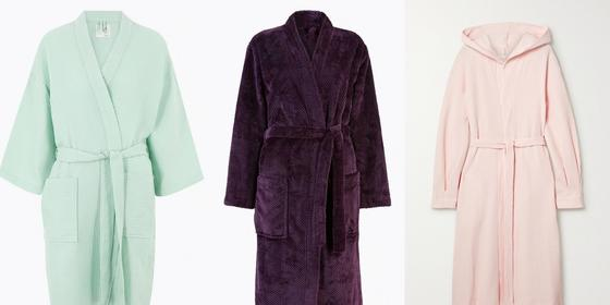 14 fluffy AF robes for the comfiest WFH setup