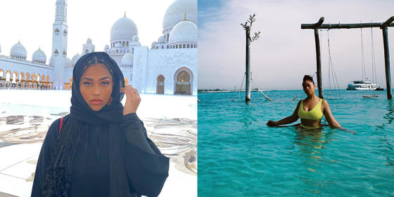 Exclusive: Jordyn Woods shares her favourite moments from her trip to the UAE