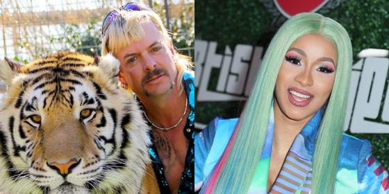Cardi B wants to help free Tiger King's Joe Exotic from prison