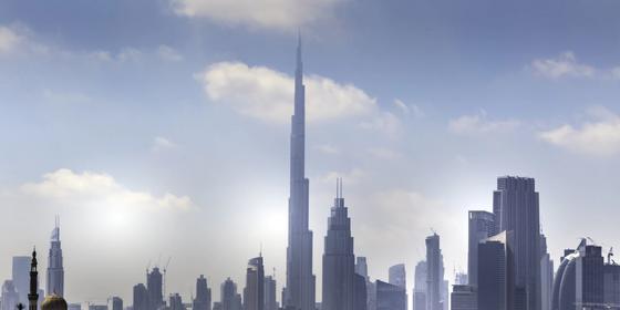 Dubai Ambulance just installed a walk-through self-sterilisation device for paramedics on the front line
