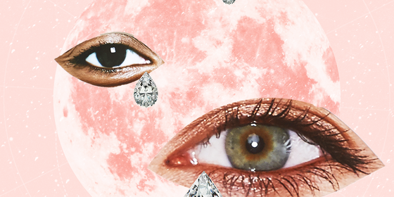 The super pink full moon in Libra wants you to feel your feelings