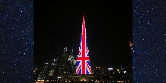 Burj Khalifa lights up in honour of Queen Elizabeth's birthday