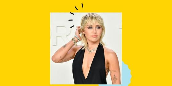 Miley Cyrus explains the important meaning behind her blonde mullet