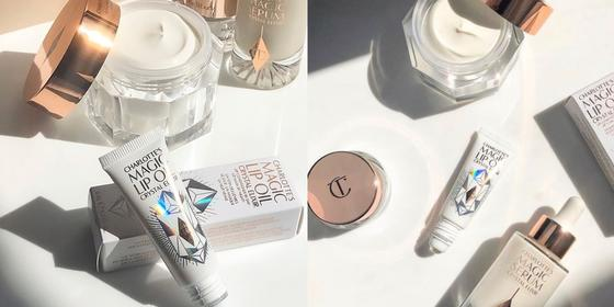 Charlotte Tilbury just dropped two new skincare products: a serum and a lip oil