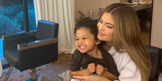 Does Stormi Webster have her own Instagram account?