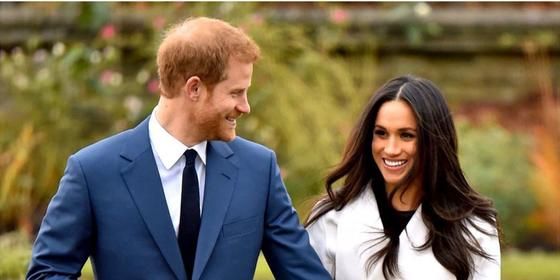 The royal family didn't wish Harry and Meghan a happy anniversary