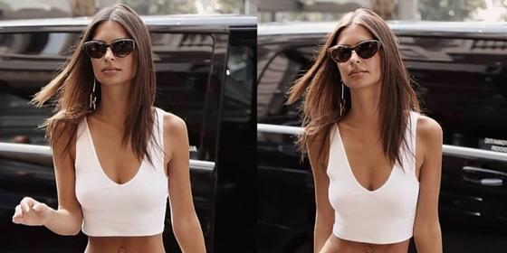 Emily Ratajkowski has gone blonde and of course she looks incredible