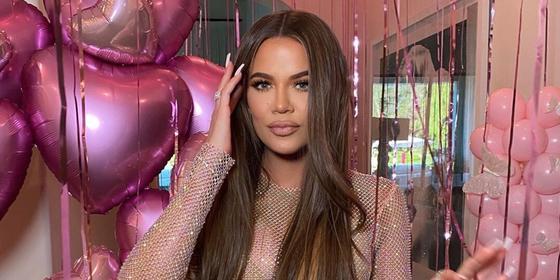 Khloe Kardashian just wore a Kuwaiti designer for her birthday