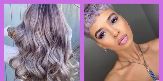 Lol, Good luck looking at these pics and *not* dyeing your hair lavender