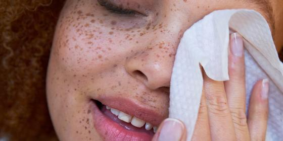 We are not-so-low-key obsessed with these pure face wipes