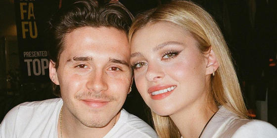 Brooklyn Beckham and girlfriend Nicola Peltz are engaged
