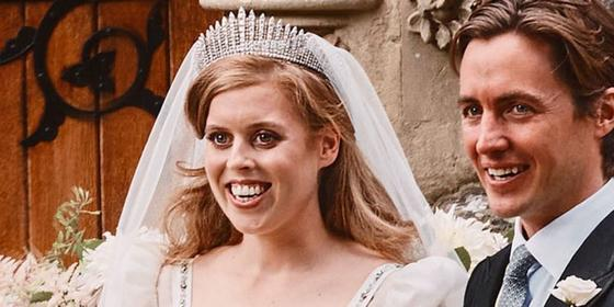 Princess Beatrice wedding dress - every picture released so far