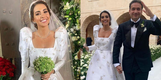 Valerie Abou Chacra ties the knot in a stunning wedding in Lebanon