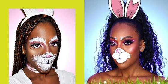 23 bunny make-up ideas that are quick and easy to do yourself