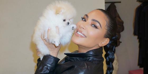You need to see Kim Kardashian's beach hair
