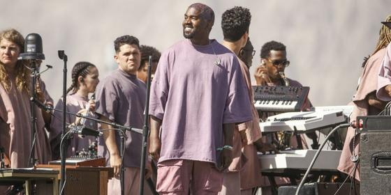 Forget Coachella, Kanye West held the most epic Sunday Service last week