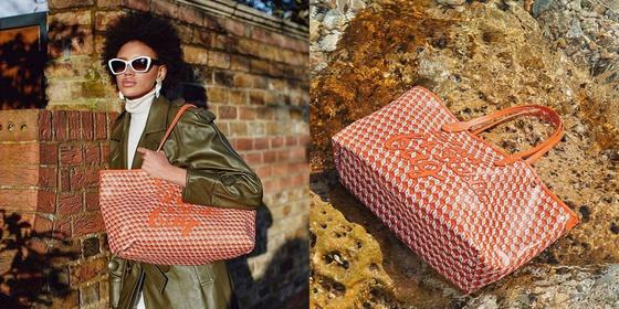 We talk to fashion sustainability pioneer Anya Hindmarch about her latest bag made from plastic bottles and windscreens
