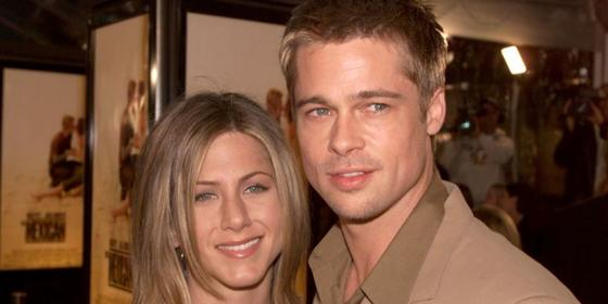 Can we discuss Jennifer Aniston and Brad Pitt's little Zoom date from this weekend?