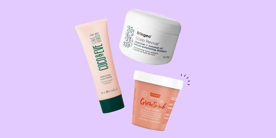 9 of the very best scalp scrubs to deep cleanse your hair