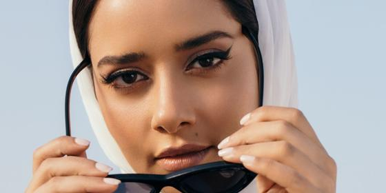 Emirati singer Balqees Fathi has just launched her own beauty brand