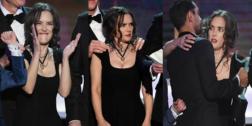 Winona Ryder's Expressions Are All Of Us