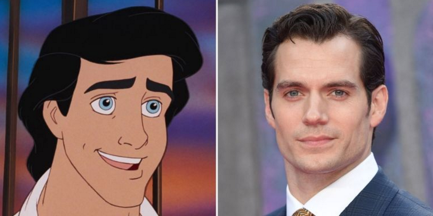 Disney fans Are Petitioning For Henry Cavill To Play Prince Eric In The Live-Action Little Mermaid Movie