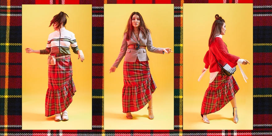 4 Ways To Upgrade Your Tartan Skirt