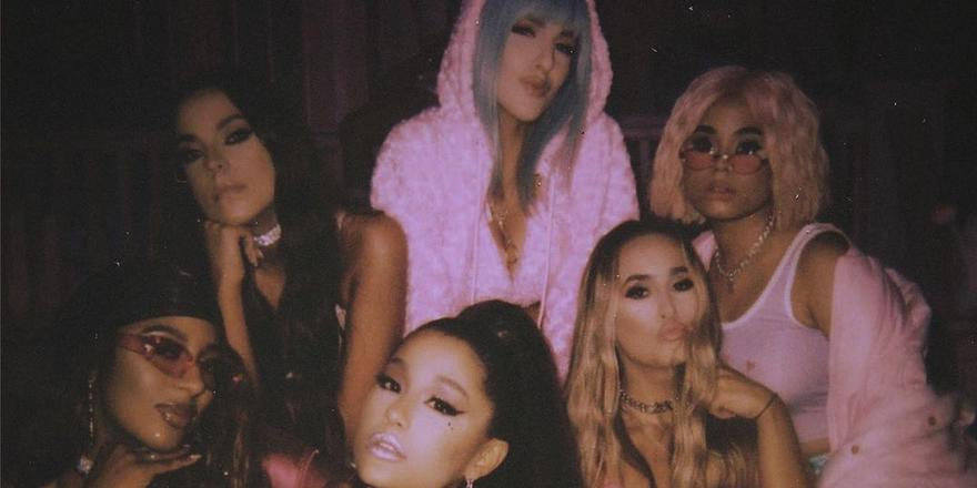 Ariana Grande's BFF Njomza Reveals The Inspiration Behind '7 Rings'