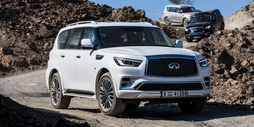 I Drove The New Infiniti QX80 Around The UAE And These Are My Thoughts