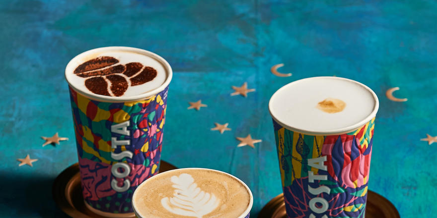 Interrupting Your Day To Tell You Costa Has Released A Special Ramadan Drink, Cup Design And Treats