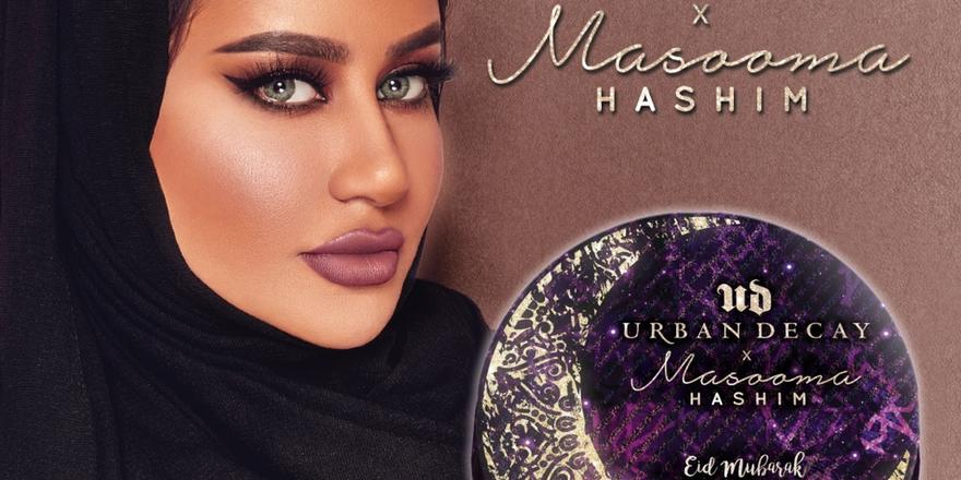 Urban Decay Teamed Up With Masooma Hashim For The Best Beauty Surprise This Eid!