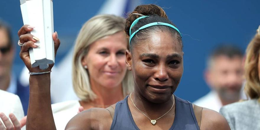 When Serena Williams Totally Made Us Cry