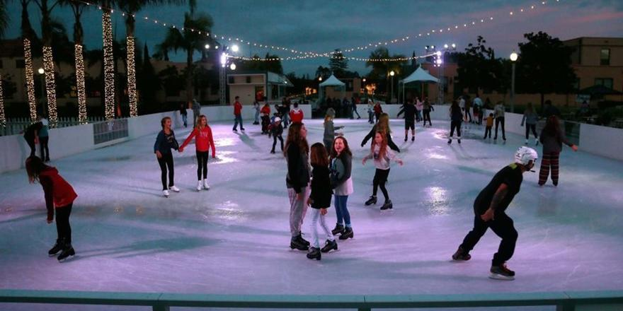 A FREE Outdoor Ice Rink Is Opening In Dubai