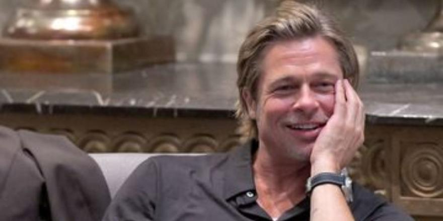 Brad Pitt teared up during his HGTV debut with the Property Brothers