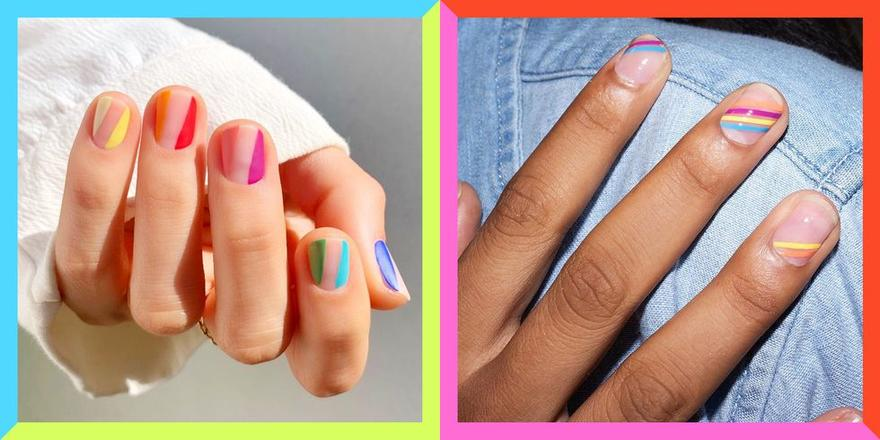 17 Pride rainbow nail ideas that'll brighten your day right up