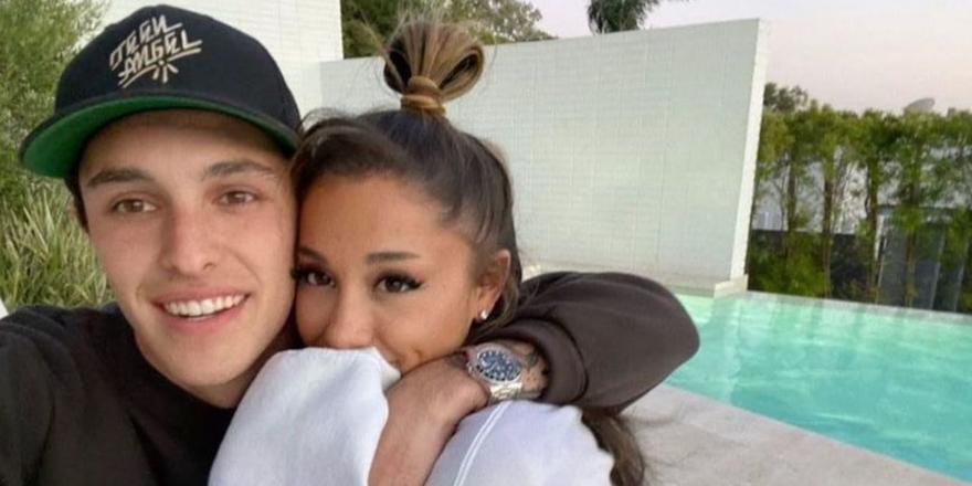 Ariana Grande just threw herself the *prettiest* birthday party with her beau Dalton Gomez