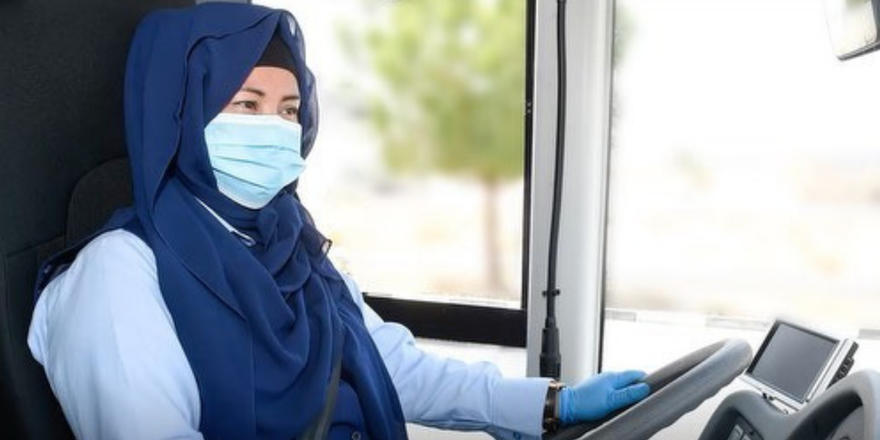 Dubai's first-ever female bus drivers officially hit the road today
