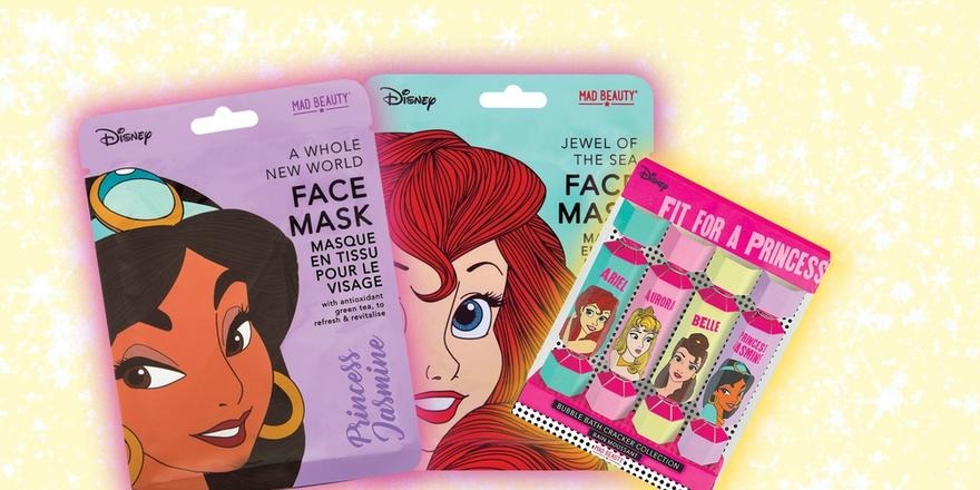 A whole bunch of Disney-themed beauty products have just landed in the Middle East