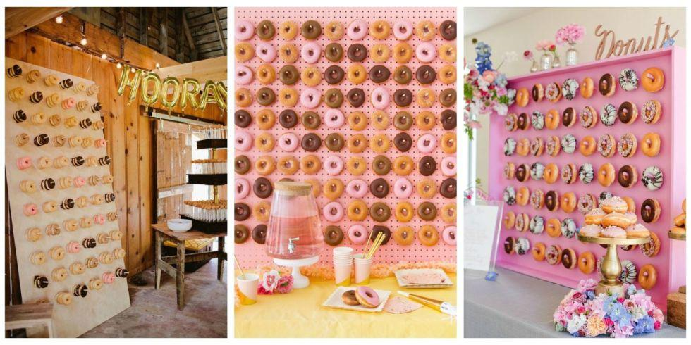 5 Reasons Doughnut Walls Are This Year's Best Wedding Trend