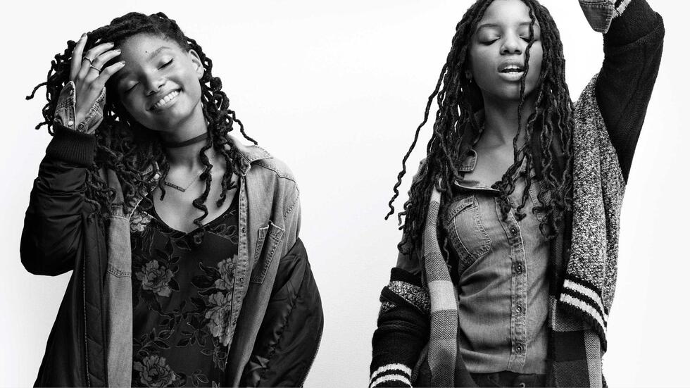 Beyoncé's Protégées Chloe X Halle are the faces of American Eagle Outfitters Holiday Collection