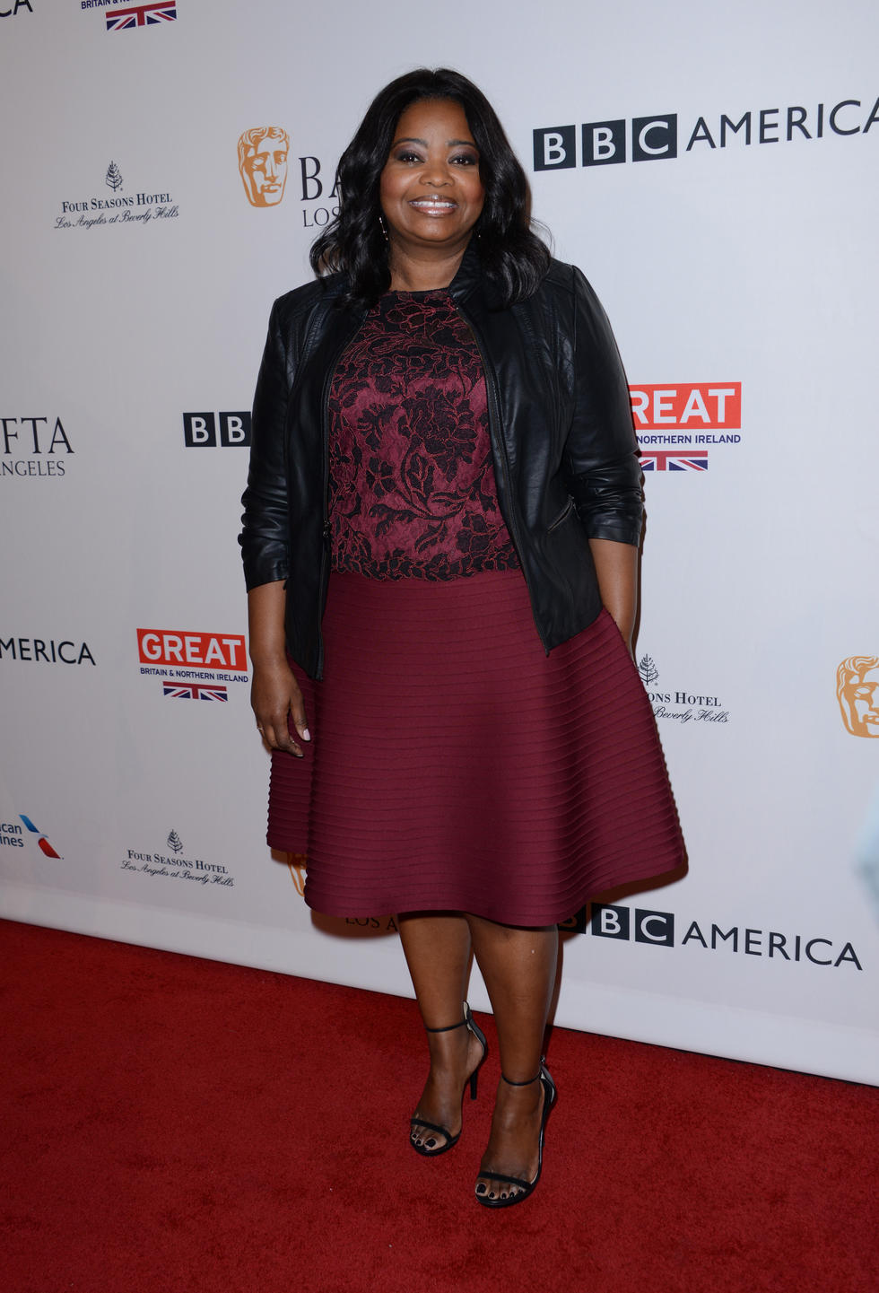 The 46-year-old at the BAFTA Los Angeles Tea Party