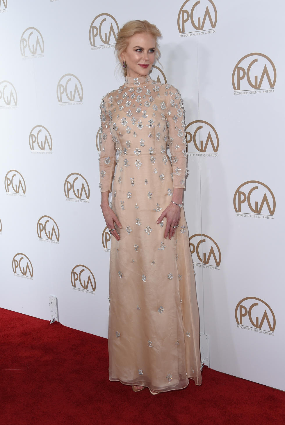 Nicole Kidman at The Producers Guild Awards