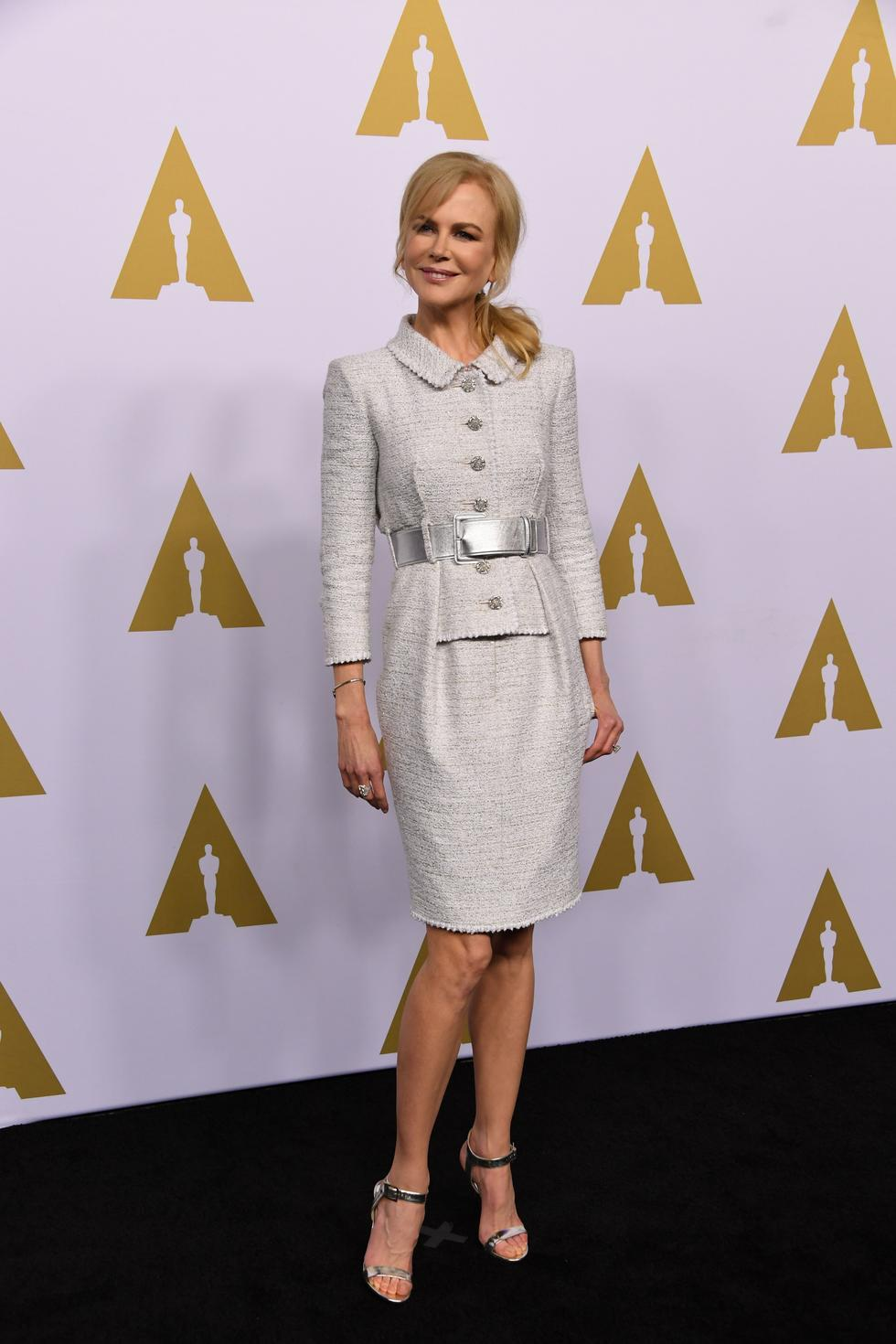 The mother-of-four at the Annual Academy Awards Nominee Luncheon
