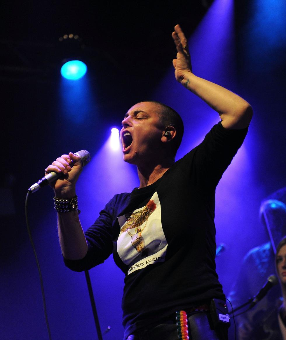 'Nothing Compares 2 U' singer, Sinead O'Connor, says that she shaved her head in a time when in was 'dangerous to be female,' adding, 'In some ways, you had to protect yourself straight off'