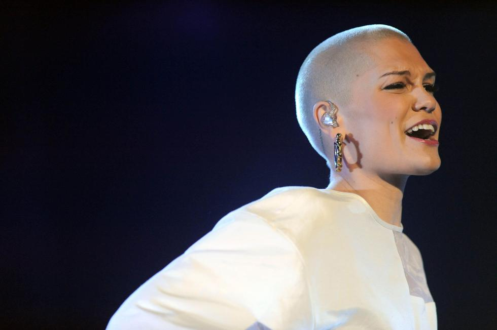 """British singer Jessie J shaved her head live on TV for charity in 2015. She was raising awareness for Comic Relief and said she  shaved it """"like, every three days"""" to maintain the short look"""