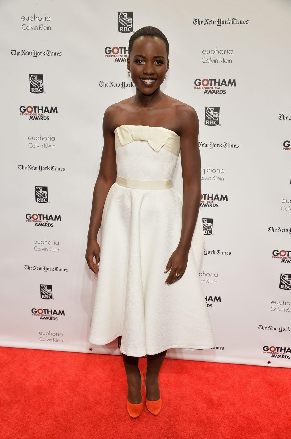 She's now grown her hair out, but when Oscar winner Lupita Nyong'o rose to fame in 2013, it was with this shorter look