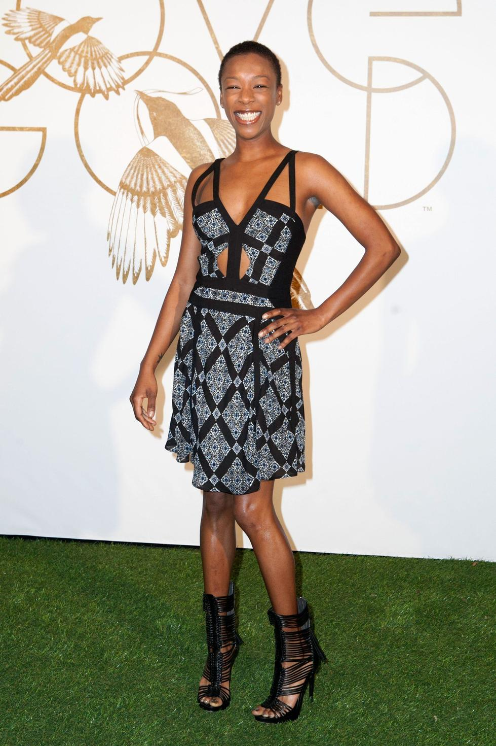 Samira Wiley is known for her role as Poussey Washington in 'Orange Is The New Black',  and has had a closely cropped look since she rose to fame