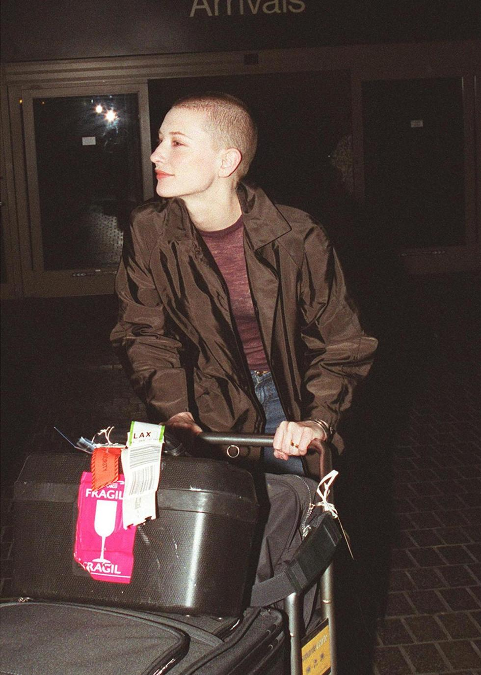 Cate Blanchett shaved all of her hair off back in 2000 for her role in Heaven