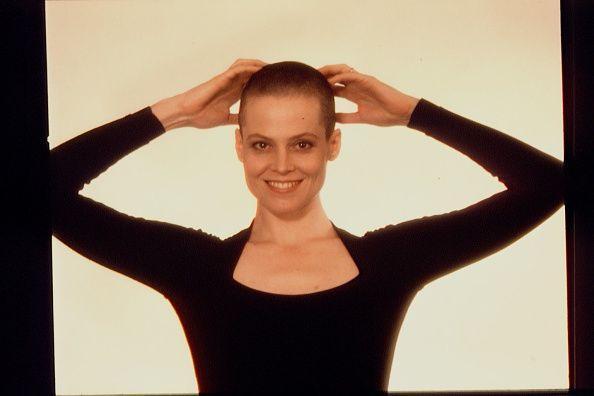 Sigourney Weaver shaved all of her hair off for 1992's 'Alien 3'